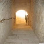 Abbaye Royale Saint-Vincent Steps to Cloisters