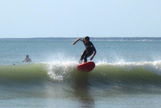 Surfing in the Vendée