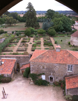 View from the medieval donjon
