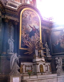 Reredos in L'Église Notre-Dame - 1681