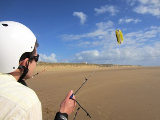 Kite flying in the Vendée