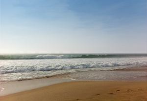 Beach at La Terriere