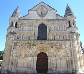 Notre-Dame la Grande Romanesque Church