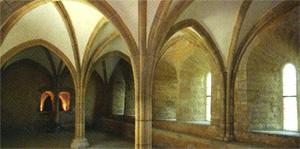 Prieuré de Chassay-Grammont, interior