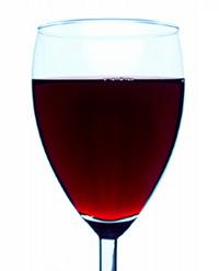 Glass of Vendéen Red Wine