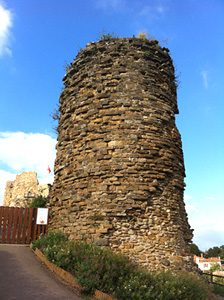 A Tower of the Chateau at Talmont