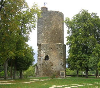 The Mélusine Tower at Vouvant