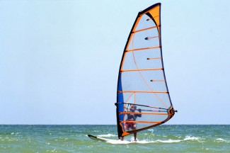 Wind Surfing in the Vendée