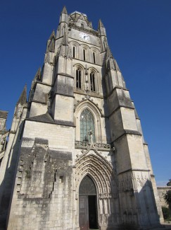 The Cathédral of St-Pierre, Saintes