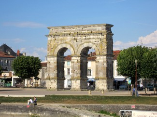 Arch of Germanicus in Saintes