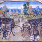 Battle of Poitiers (miniature by Froissart)