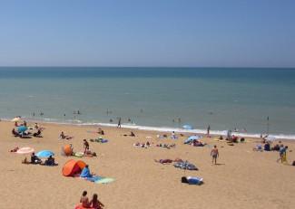 Charente beach