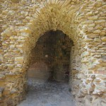 Medieval castle archway at Talmont