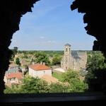 Château de Talmont keep view
