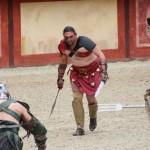 Gladiators fight at Puy du Fou