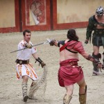 Gladiator combat Puy du Fou
