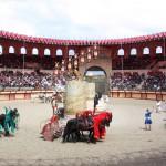 Puy du Fou roman coliseum parade