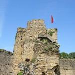 Château de Talmont keep