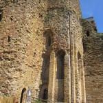 Castle at Talmont architecture