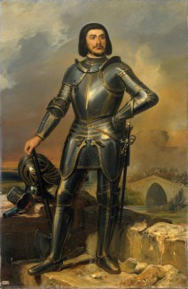 Gilles de Rais portrait in 1835