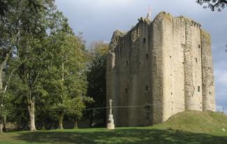 Pouzauges castle keep