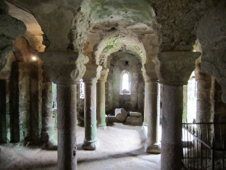 The Château de Tiffauges - Crypt